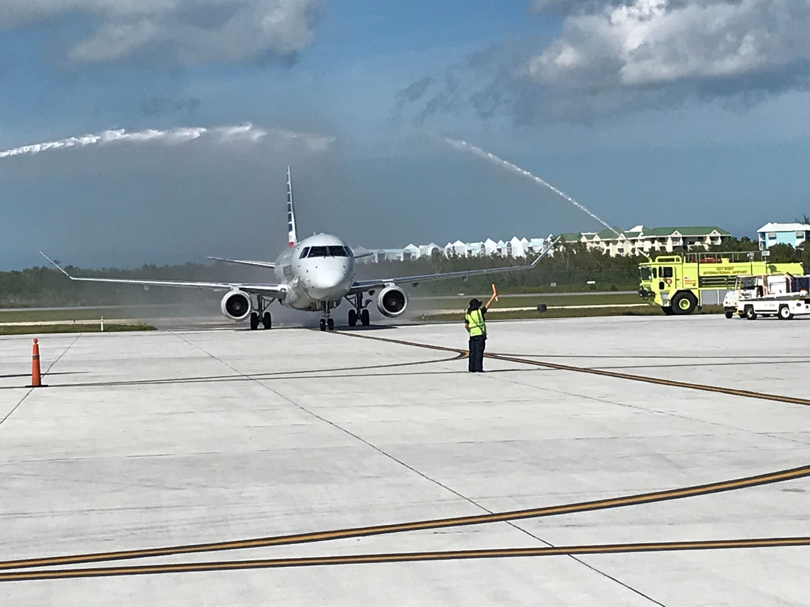 First Philly flight arrives at Key West International Airport
