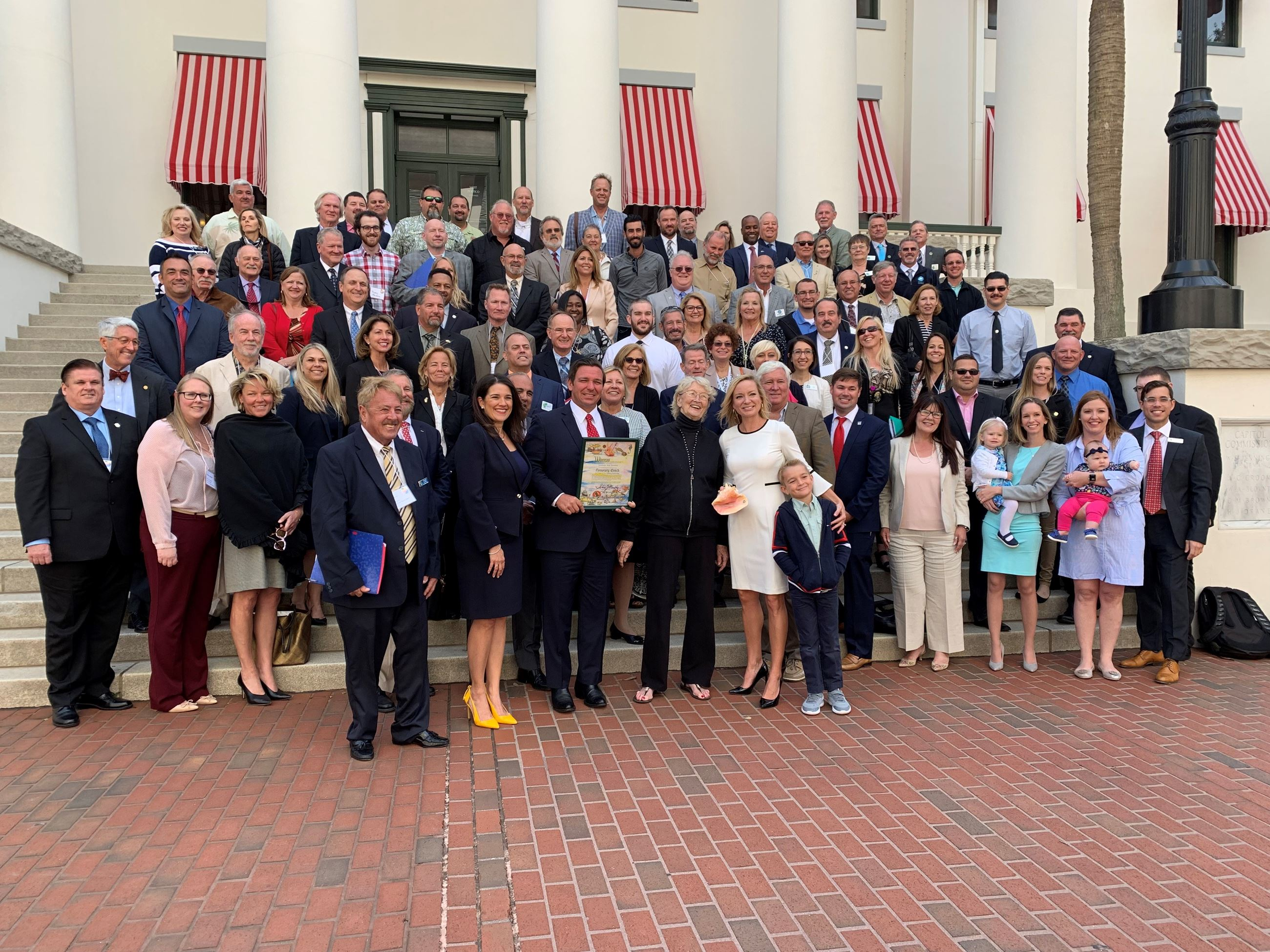 Florida Keys officials at Florida Keys Day in Tallahassee