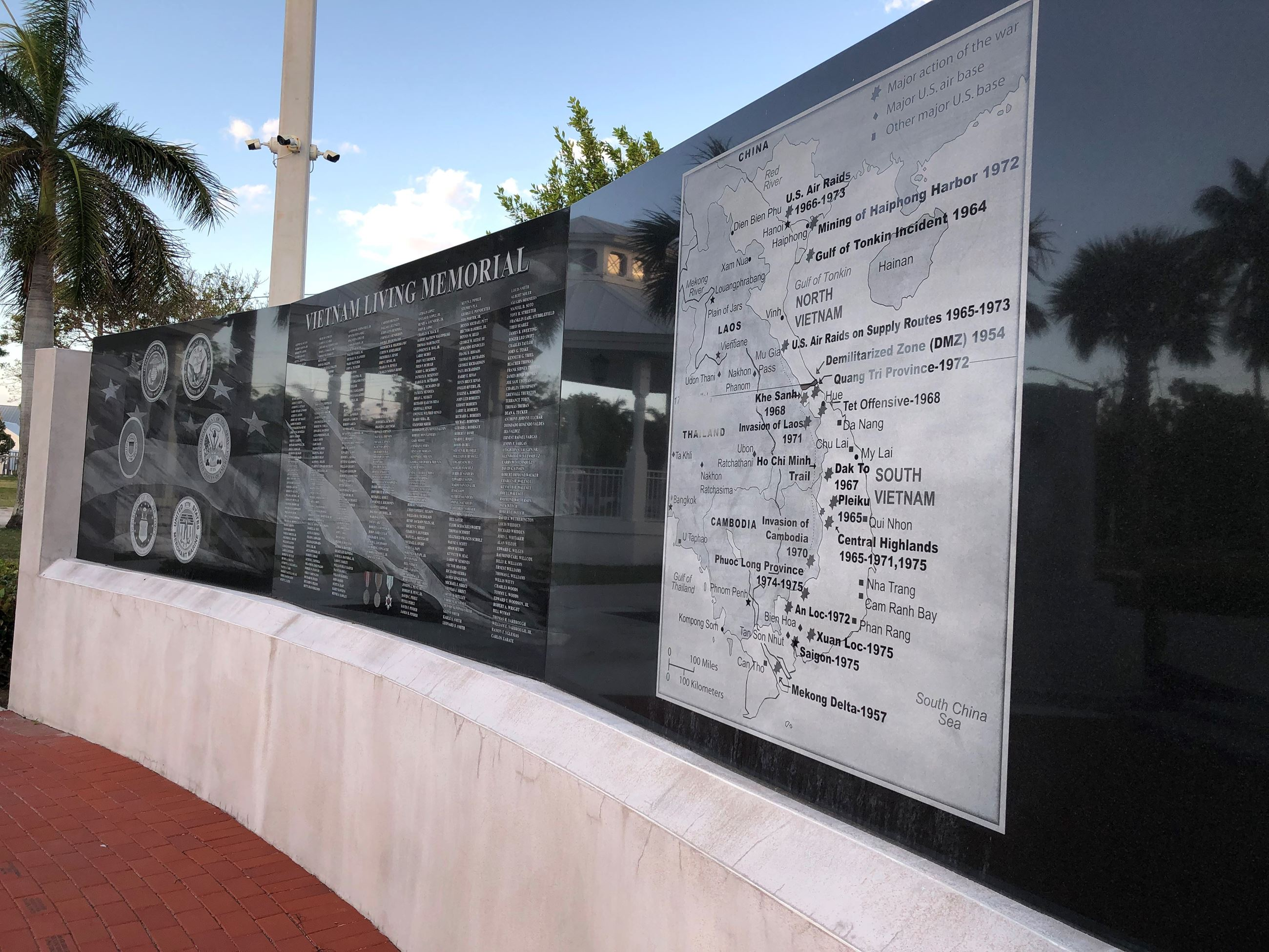 Key West Vietnam Veterans Wall